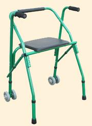 Инвалидные ходунки-опоры на 2-х колесах