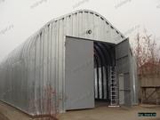 Продам Бескаркасный,  арочный,  разборный ангар со склада в Омске.