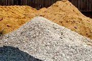 Завоз песка,  щебня,  грунта,  строймусора