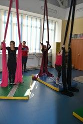 Акробатика в воздухе на полотнах/кольце в Омске