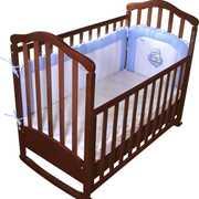 Кроватка детская с матрасом в прокат аренда Омск