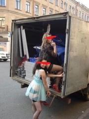 Квартирные переезды в Омске + вывоз строительного мусора и с