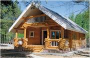Дом из оцилиндрованного бревна 6х7