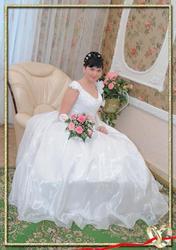 Продаю свадебное платье одета один раз.