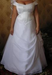 Продам свадебное платье (б/у один вечер)